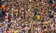 Ilê Aiyê desfila no Campo Grande nesta segunda (08)