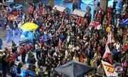 Manifestação de apoio ao Governo Federal é realizada em Porto Alegre