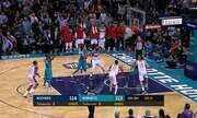 Melhores momentos: Charlotte Hornets 129 x 124 Washington Wizards pela NBA