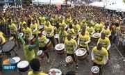 Baianos comemoram vitória do Brasil na Copa do Mundo