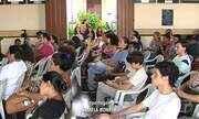 Aula pública reúne estudantes de arqueologia e antropologia da Ufopa em Santarém