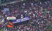 Manifestantes fazem protestos contra Jair Bolsonaro pelo Brasil