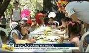 4ª edição 'Diário na Praça' leva serviços e diversão à praça Carlos Alberto Studart Gomes