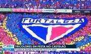 Tricolores fazem festa no Castelão
