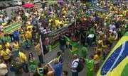 Manifestações em apoio a Bolsonaro ocorrem em todos os estados e no DF