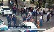 Flanelinha é baleado no meio da rua, em Vila Velha, ES