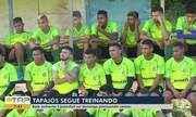 Tapajós continua preparação para jogo contra o Castanhal no domingo, 16, em Santarém