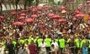 Afroreggae anima foliões no RJ