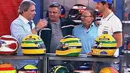 Linha de Chegada entrevista Sid Mosca e Bruno Senna