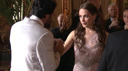 Cena 28/10 - Herculano e Amanda participam de recepção no Palácio Presidencial