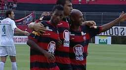 Melhores momentos de Vitória 4 x 0 Ipatinga pela 4ª rodada do Brasileirão Série B
