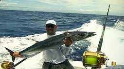Pesca oceânica fascina grupo de pescadores