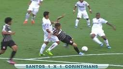 Maurcio Noriega, sobre Santos x Corinthians: `Entregou o que se espera de uma final`
