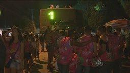 Vias são bloqueadas para mais um final de semana de carnaval fora de época em Porto Velho