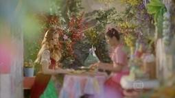 Rosinha conta a Milita como começou o romance com Giáocomo