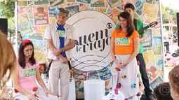 Globo promove ação de incentivo à leitura na Lagoa Rodrigo de Freitas, RJ