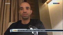 "Tardelli comemora ser primeiro brasileiro convocado que atua na China: ""Privilegiado"""