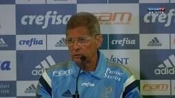 """Após empate, Oswaldo diz que não teme por jogo contra Corinthians: """"Bola para frente!"""""""