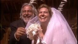 Bruno e Luana se casam