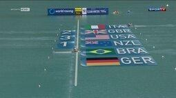 Fabiana Beltrame fica em 4º lugar no skiff simples do Mundial de Remo