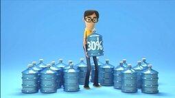 Campanha economia de água - TV Globo Minas