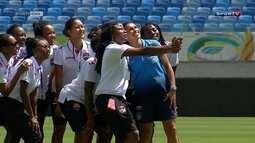 Seleção feminina enfrenta Trinidad e Tobago pelo Torneio Internacional Feminino de futebol