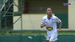 Os gols de Cruzeiro 2 x 0 Atlético-PR pela Copa RS sub 20 de futebol