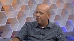 """Alex Escobar fala sobre função de narrador: """"Gosto muito"""""""