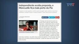 Comentaristas analisam a proximidade de Mancuello com o Flamengo