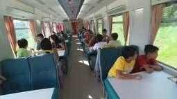 Reprise: Terra de Minas embarca em viagem de trem até Vitória
