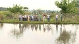 Curso sobre piscicultura em sandovalina.