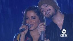 Luan Santana e Anitta cantam 'O Recado' no Planeta Atlântida 2016