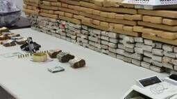Quase 200 kg de drogas são apreendidos em Operação 'Pré-Carnaval' em Uberlândia