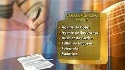 Câmara de Marília está com inscrições abertas para concurso público