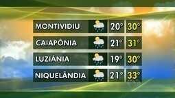 Confira a previsão do tempo para todo estado nessa semana