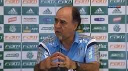 Técnico Marcelo Oliveira fala sobre o empate do Palmeiras com o São Bento pelo Paulista