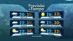 Veja a previsão do tempo para este fim de semana