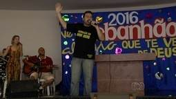 Católicos realizam 'Rebanhão' durante o carnaval, em Goiânia