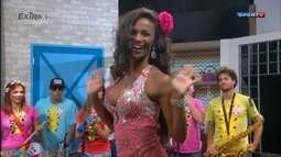 Luana Bartolo dança e afirma que trocou carreira de remadora pela de modelo