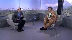 Milton Cunha comenta o desfile da Mocidade Independente de Padre Miguel