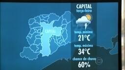 Chove forte na Zona Leste e a região está em estado de atenção