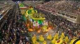 Milton Cunha comenta o desfile da Imperatriz Leopoldinense