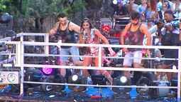 Banda Vingadora e Igor Kannário arrastam multidão no circuito do Campo Grande
