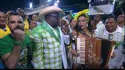 Lucy Alves brilhou na Marquês de Sapucaí no Rio de Janeiro