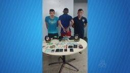 Trio é preso suspeito de fazer arrastão durante Galo de Manaus
