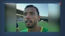 Nenê faz vídeo em treino do Vasco e Jorginho reprova atitude do atleta