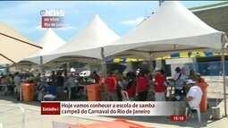 Escola campeã do carnaval do RJ será anunciada nesta quarta