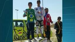 Capixaba do Sul do ES é campeão da Copa Latino Americana de Bicicross