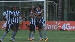 O gol de Botafogo 1 x 0 Macaé pela 3ª rodada do Campeonato Carioca