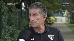 """Edgardo Bauza sobre atuação contra Cesar Vallejo: """" Não gostei completamente"""""""